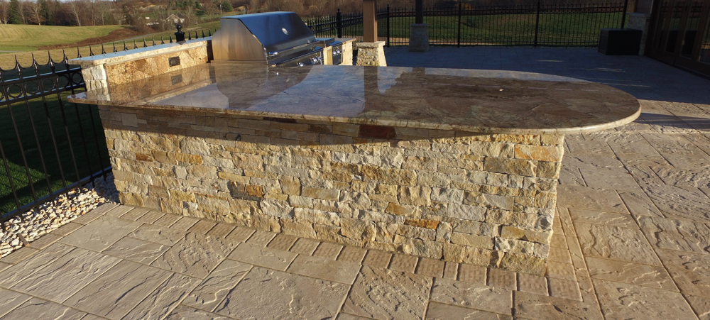 Outdoor Fireplace, FirePit Clifton Park, NY   Pearl ...